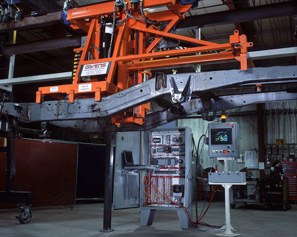 Automated Chassis Transfer System by Givens Lifting Systems Inc.