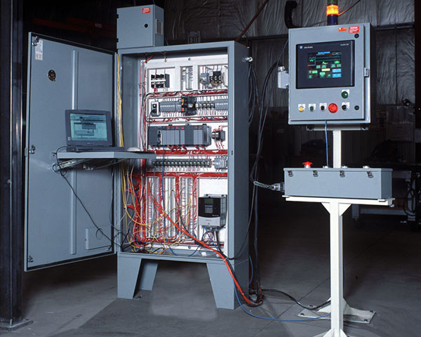 PLC Control Panel by Givens Lifting Systems Inc.
