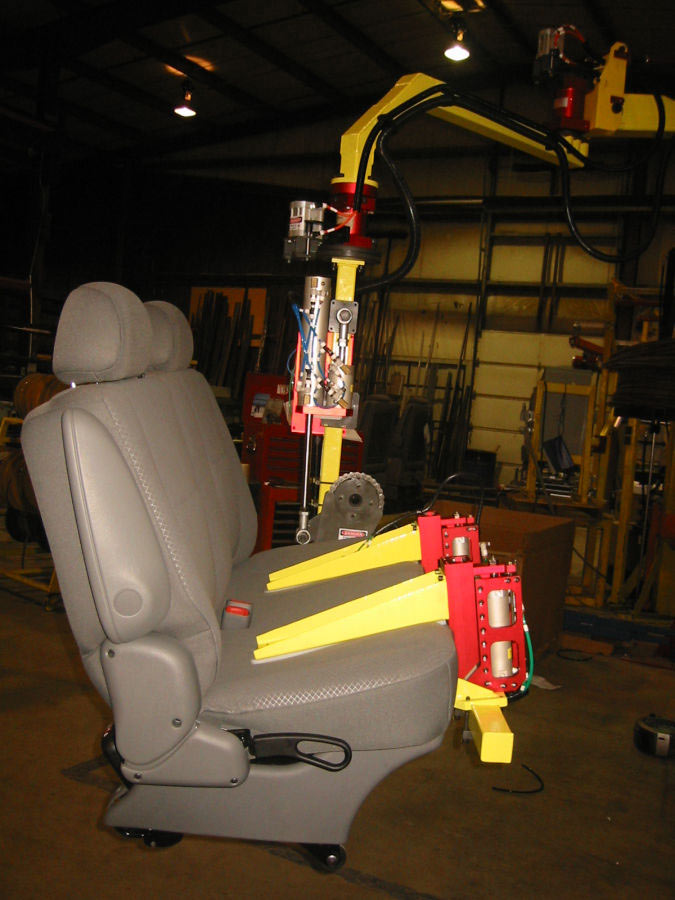 Bench Seat Lift Assist by Givens Lifting Systems Inc.