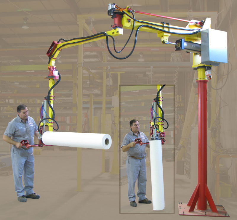 Lifting Equipment for Roll Handling Sectors from Givens Lifting Systems