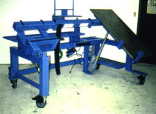 custom assembly fixture by Givens Lifting Systems Inc.