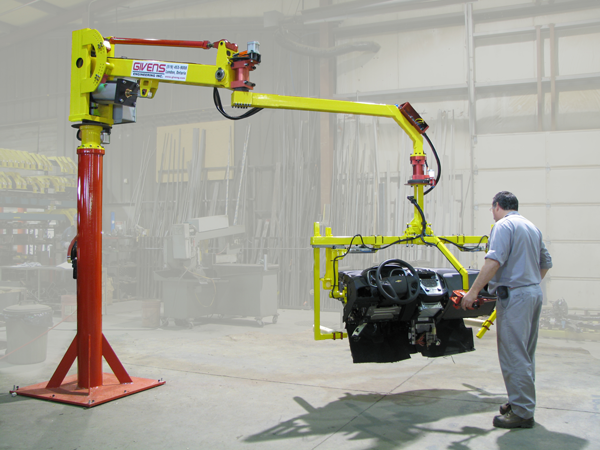 Industrial Manipulators for Automotive Manufacturing from Givens Lifting Systems