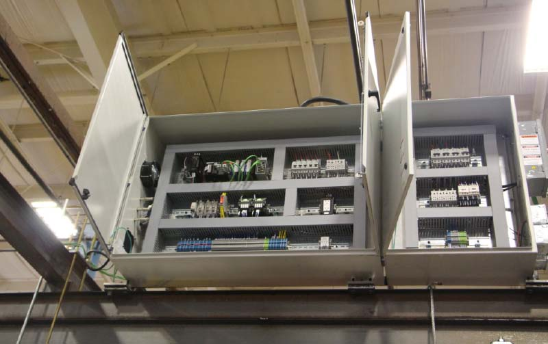 custom control panel for nutrunners by Givens Lifting Systems Inc.