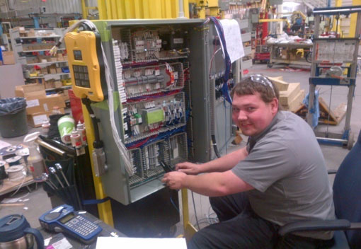 work lift platform controls by Givens Lifting Systems Inc.