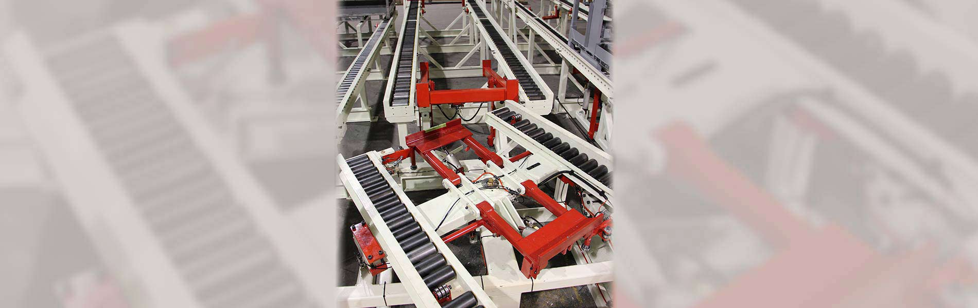 Custom Conveyors designed & manufactured in the US by Givens Lifting Systems Inc.