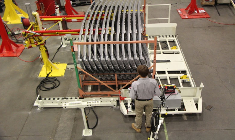 custom material handling dolly by Givens Lifting Systems Inc.