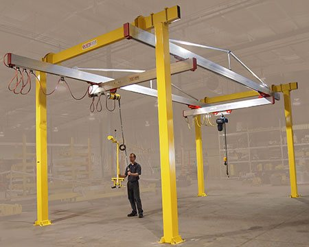 G-Rail Bridge Cranes by Givens Lifting Systems Inc.