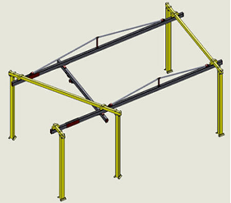 G-Rail Bridge Crane by Givens Lifting Systems Inc.