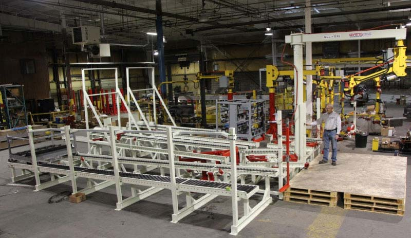 Gravity Conveyors by Givens Lifting Systems Inc.