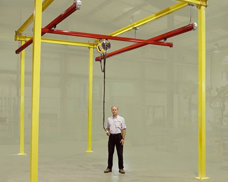 KBK Bridge Cranes available from Givens Lifting Systems