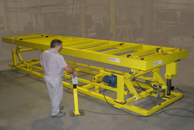 high-speed electric work lift platform by Givens Lifting Systems Inc.