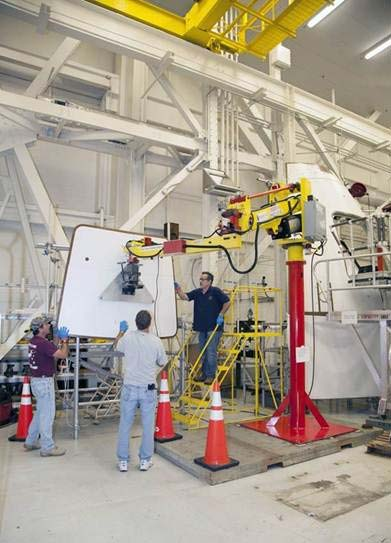M120 manipulator at NASA at Kennedy Space Center by Givens Lifting Systems Inc.