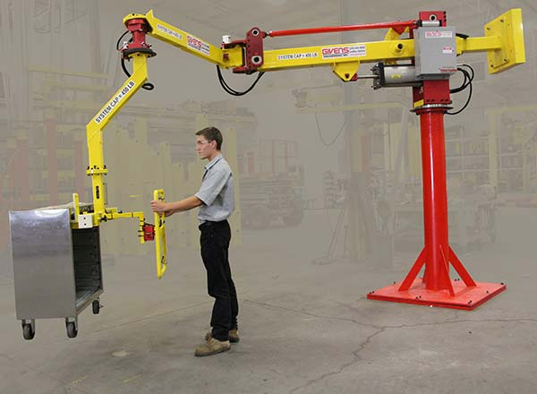 M120 manipulator with a very long reach by Givens Lifting Systems Inc.