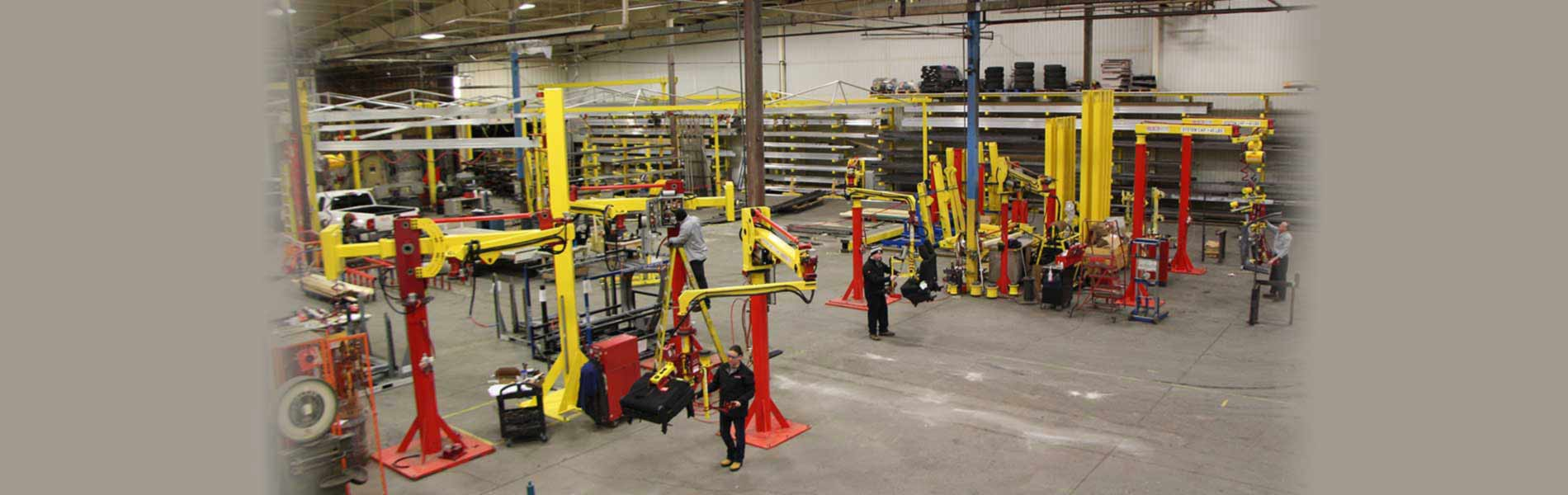Industrial Manipulators designed & manufactured in the US by Lifting Systems Inc.