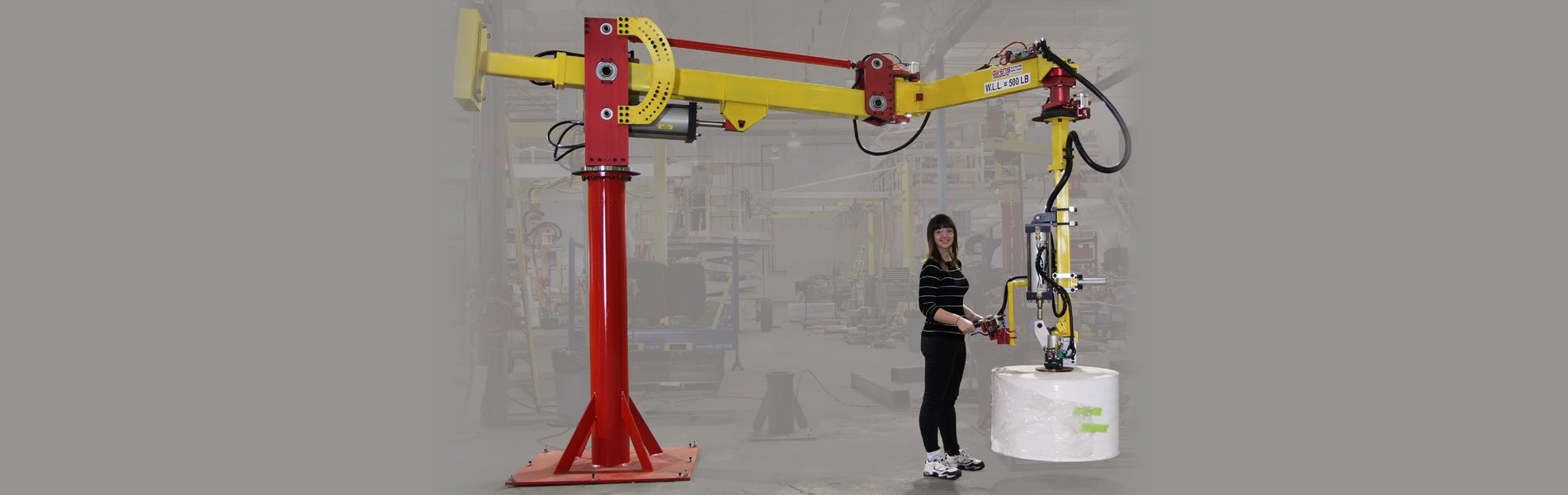 Industrial Manipulators custom designed & manufactured in the US by Givens Lifting Systems Inc.
