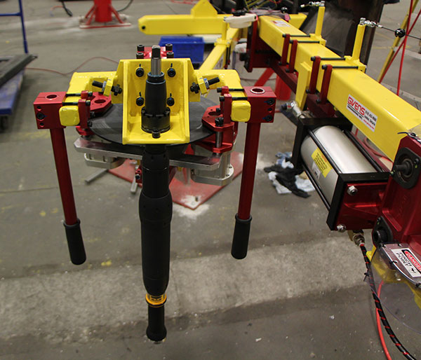 Tilting Toolholder with Brakes by Givens Lifting Systems Inc.